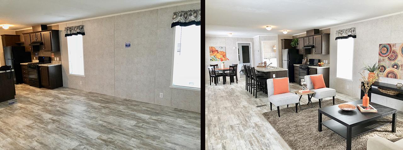 interior design vs staging impact home staging experts. Black Bedroom Furniture Sets. Home Design Ideas